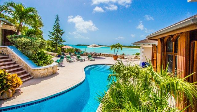 Stunning views from villa - Tre Desideri, Turks & Caicos,Taylor Bay Beachfront - Providenciales - rentals
