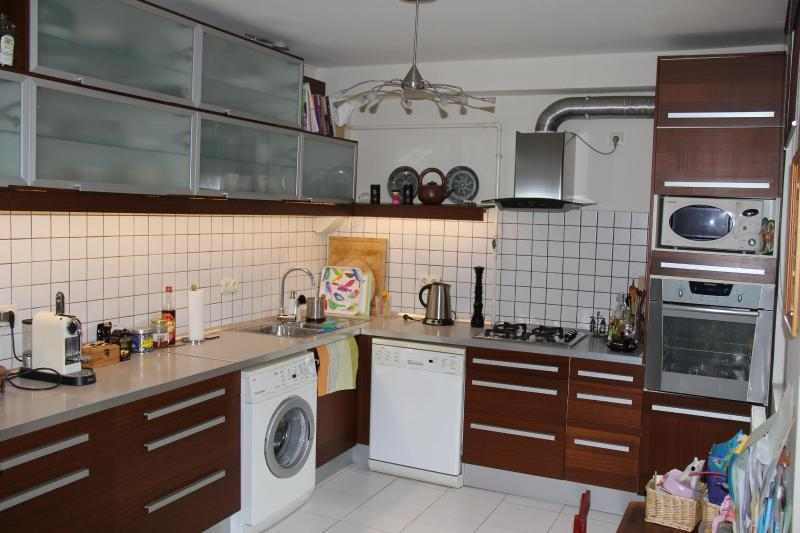 Kitchen - washing machine, dishwasher, electric & microwave oven, etc. - Globetrotters' paradise near Chain Bridge - 130 m2 - Budapest - rentals