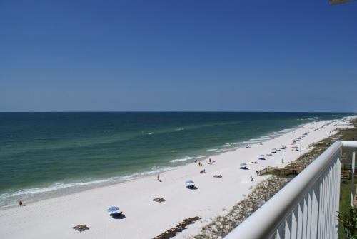 Endless view of sugar sand beach and gorgeous gulf water - Sandy Key ~ Direct Gulf Front, 6th Floor, 2 Pools - Pensacola - rentals