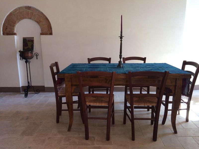 Dining Room - Villa Ferranino Towhouses-Cimabue - San Giovanni d'Asso - rentals