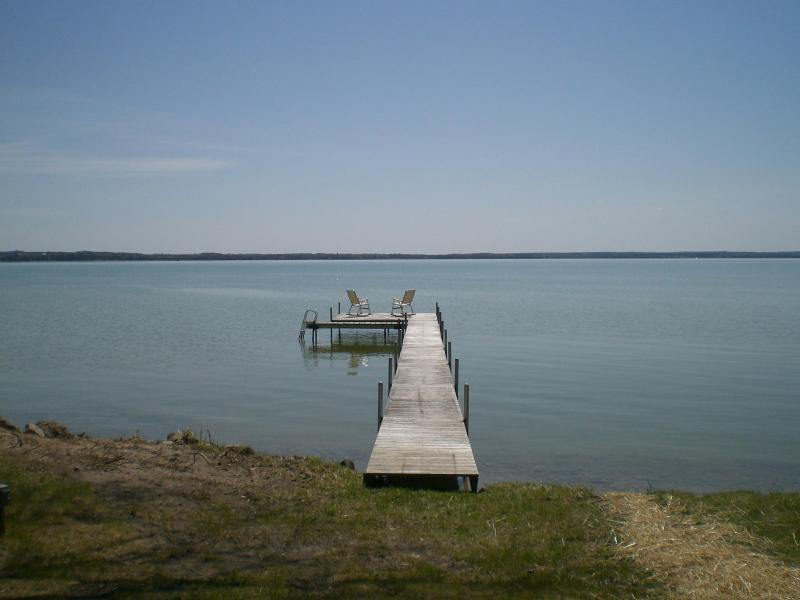 Mullett Lake is so beautiful! - Mullett Manor Redux - Cheboygan - rentals