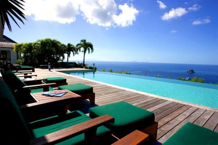 Luxury 5 bedroom Colombier villa. 270 degrees of ocean and garden views! - Image 1 - Colombier - rentals