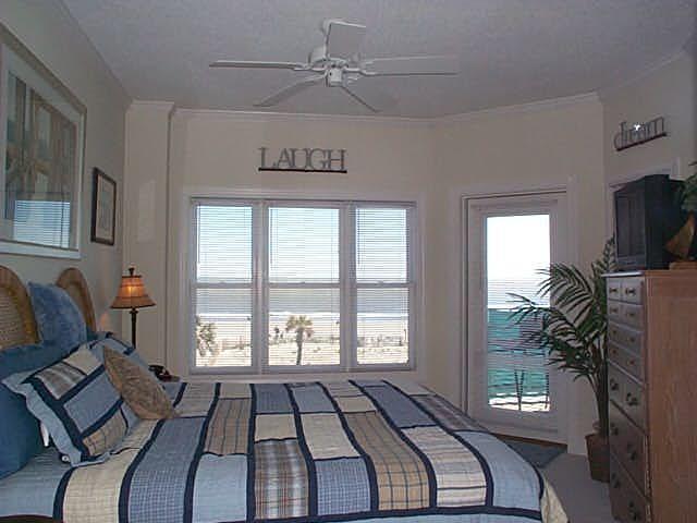 View from Master Bedroom - Ocean-front Luxury 3 BR Condo, Spectacular Views - Tybee Island - rentals