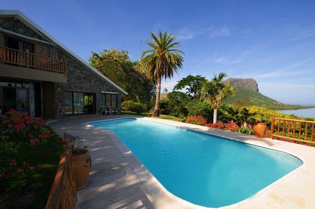 Villa Manini with unique view to le Morne Mountain - Image 1 - Le Morne - rentals