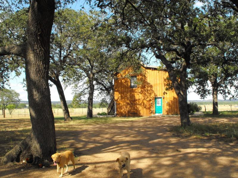 Moonrise Retreat - 2 bedroom, 2 bath romantic Texas Hillcountry cabin - Fredericksburg - rentals