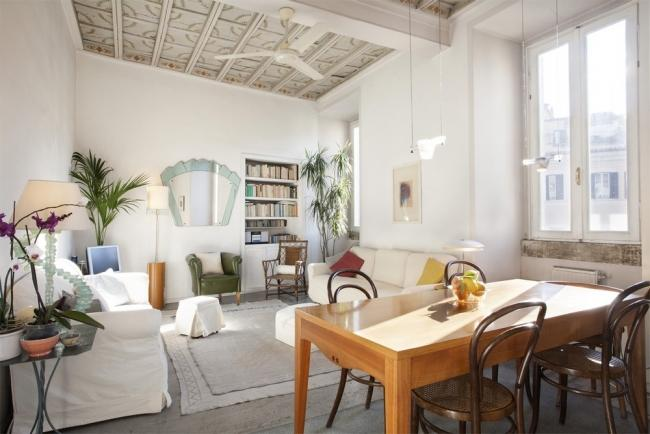 A bright and charming apartment in the heart of the historic district - Image 1 - Rome - rentals