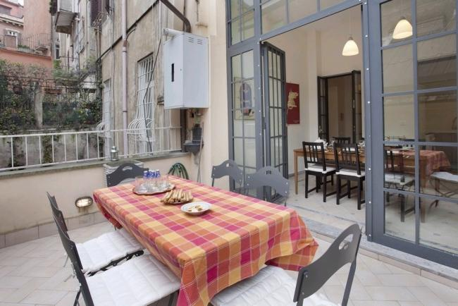 A spacious and comfortable apartment with terrace in the heart of the Monti district. - Image 1 - Rome - rentals