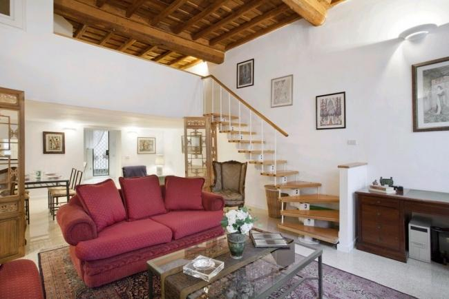 A charming apartment in the historic district just a stone's throw from Campo dei Fiori. - Image 1 - Rome - rentals