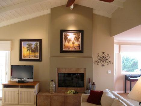 Entertainment Center in Great Room - Enjoyable & Luxurious Carlsbad Village Beach Home - Carlsbad - rentals