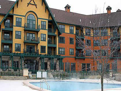 Appalachian Hotel - Ski/in - Ski/out Luxury Lodge Style Condo/Hotel - The Appalachian Mountain Creek Vernon NJ 1 bedrm - Vernon - rentals