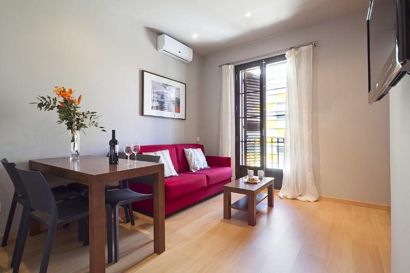 Livingroom - Eixample 2 bedroom - Barcelona - rentals