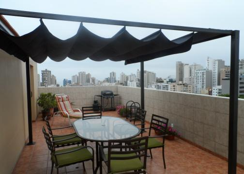 Large Rooftop Private Terrace - Miraflores Penthouse Rooftop Private Terrace condo - Miraflores - rentals
