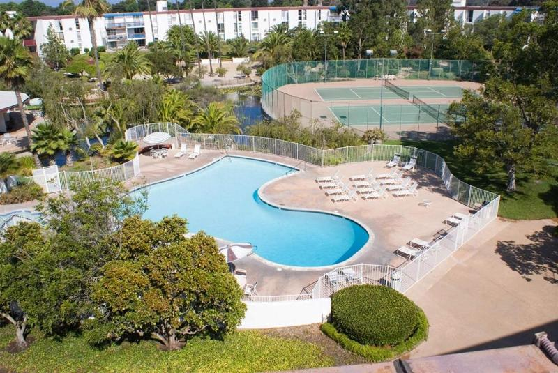 Courtyard - 1 BR Condo in Resort Style Complex! - Pacific Beach - rentals
