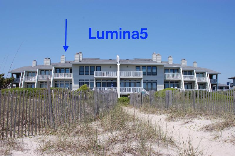 Welcome to Lumina5 on Wrightsville Beach - RARE 4BR Oceanfront w 28' Deep Water Slip on S End - Wrightsville Beach - rentals