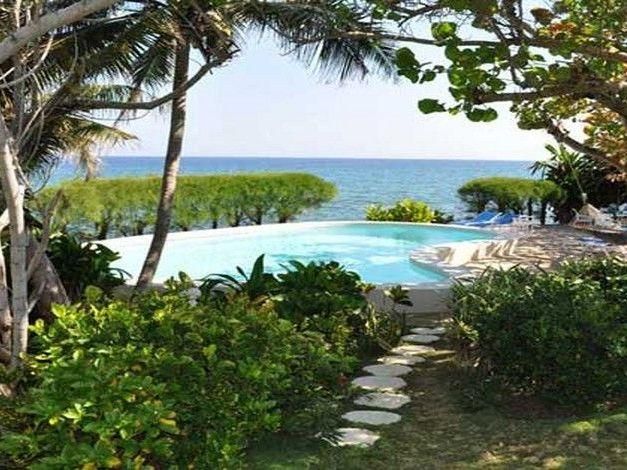 PARADISE TRYALL SEA GRAPE 3 BEDROOM OCEANFRONT VILLA - Image 1 - Montego Bay - rentals