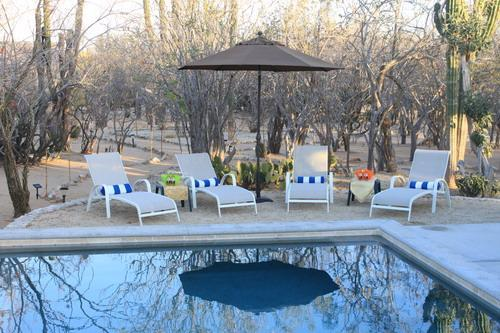 Lounges by the pool - 3..one Bedroom cottages Tranquil setting.Los Cabos - San Jose Del Cabo - rentals