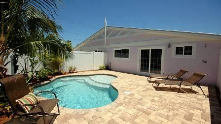 Relax Around Your Private Sunny Pool - Plum Cottage 322 64th St - Holmes Beach - rentals