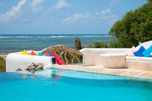 The view out across the pool towards the Indian Ocean - Naishi - Spectacular  4 bed house with Ocean Views - Watamu - rentals