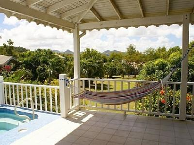 Hammock - Cap Estate holiday villa Oleander One - Cap Estate - rentals