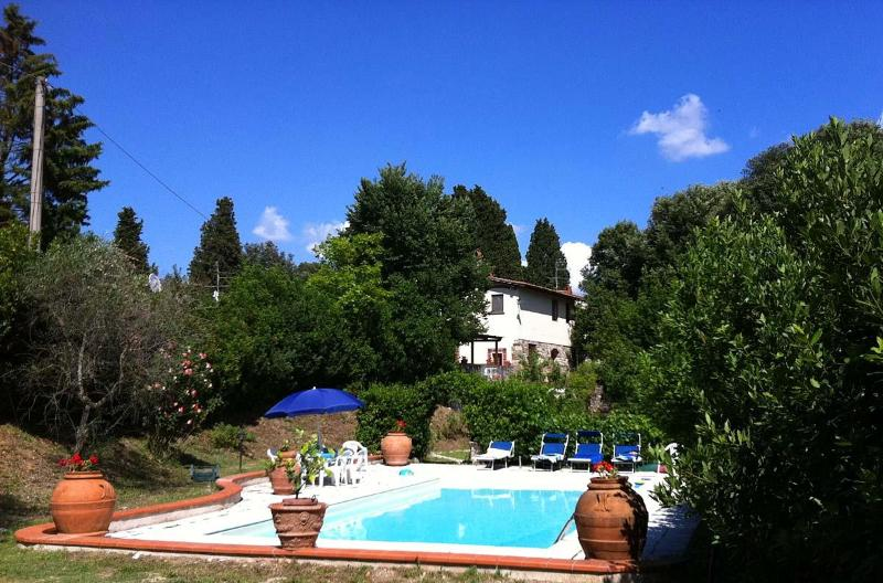 Beautiful and Quiet Vacation Rental on the Florence Hills at La Merlaia - Image 1 - Arezzo - rentals