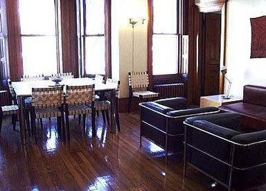 living room/dining room - 3 br luxury apartment,  historic landmark district - New York City - rentals