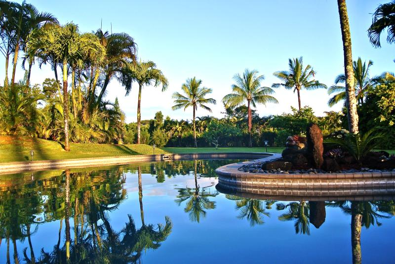 A Tropical Paradise By The Pool - Ke Aloha Estate - #1 Resort Home With Pool & Gym - Princeville - rentals