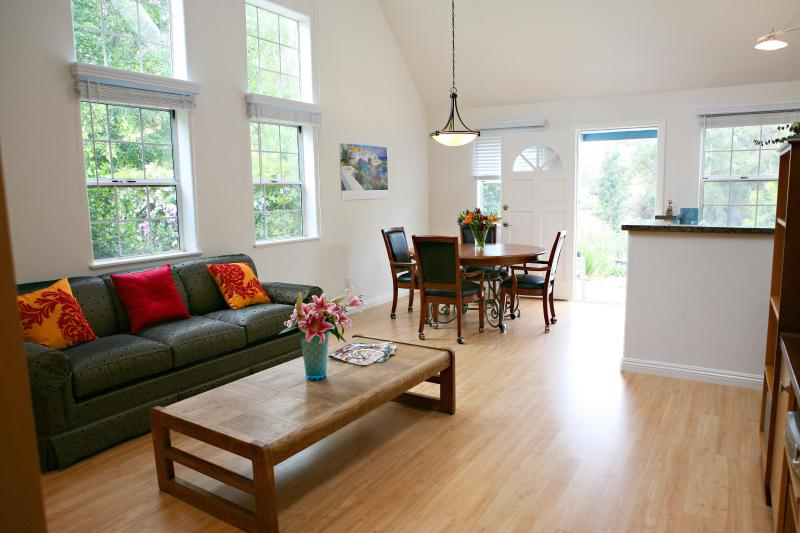 living room - Gorgeous, private, guest house in Vista, Ca - Vista - rentals