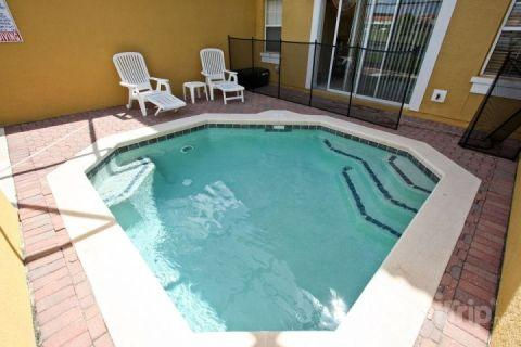 Private splash pool - Charming Encantada Condo with a Gym, Pool and Jacuzzi - Kissimmee - rentals
