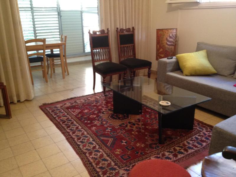 LIVING ROOM - COSY VINTAGE IN PRIME LOCATION DOV HOZ ST - Tel Aviv - rentals