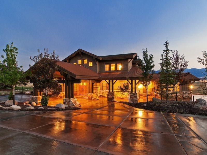 Luxury Mountain View Retreat with Saltwater Outdoor Hot Tub  - Mountain View Ski Retreat with Private Outdoor Hot Tub and Breathtaking Mountain Views - Park City - rentals