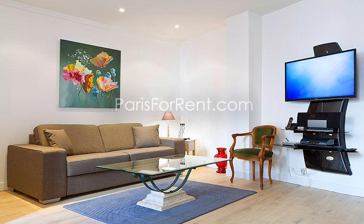 Newly renovated 1BD/1.5BA Saint Germain des Pres - Image 1 - Paris - rentals