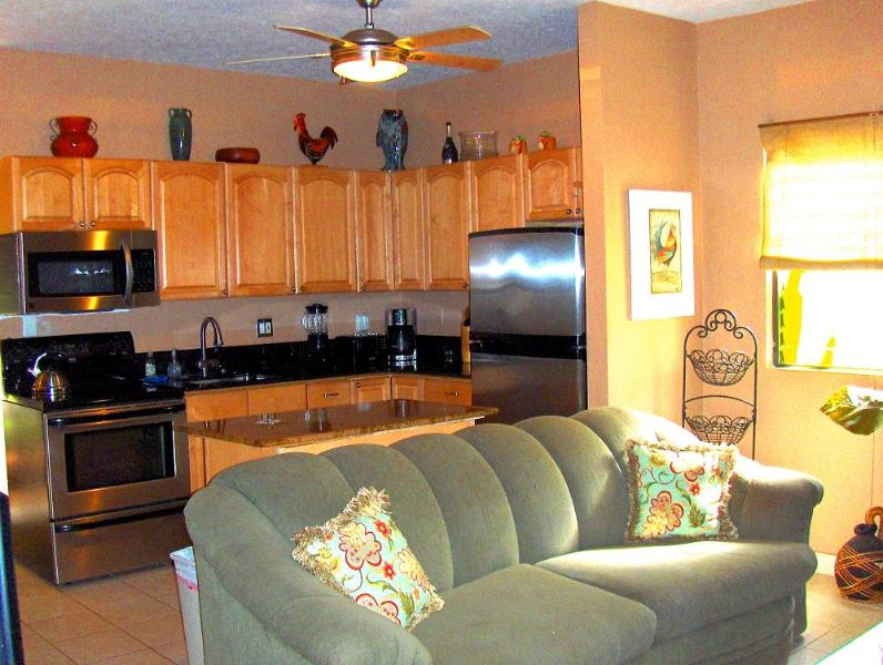Kitchen and part of living area - Let This Gorgeous Condo Dazzle You.... - Lahaina - rentals