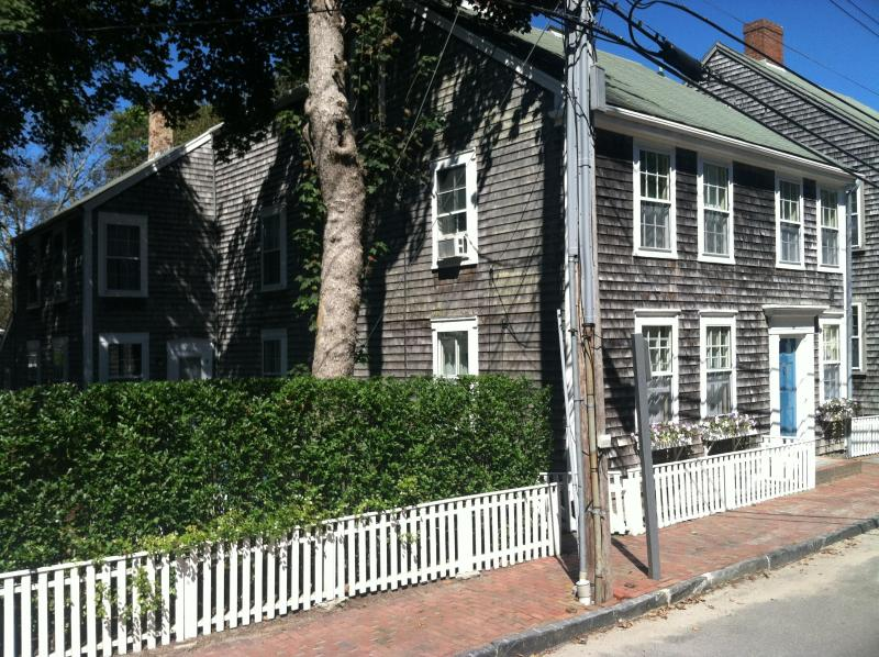 Side and Front view - Charming historic 7 BR home near town center - Nantucket - rentals