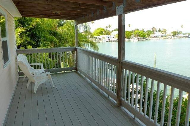 Balcony off Master bedroom - Beautiful waterfront apartment with stunning views - Madeira Beach - rentals