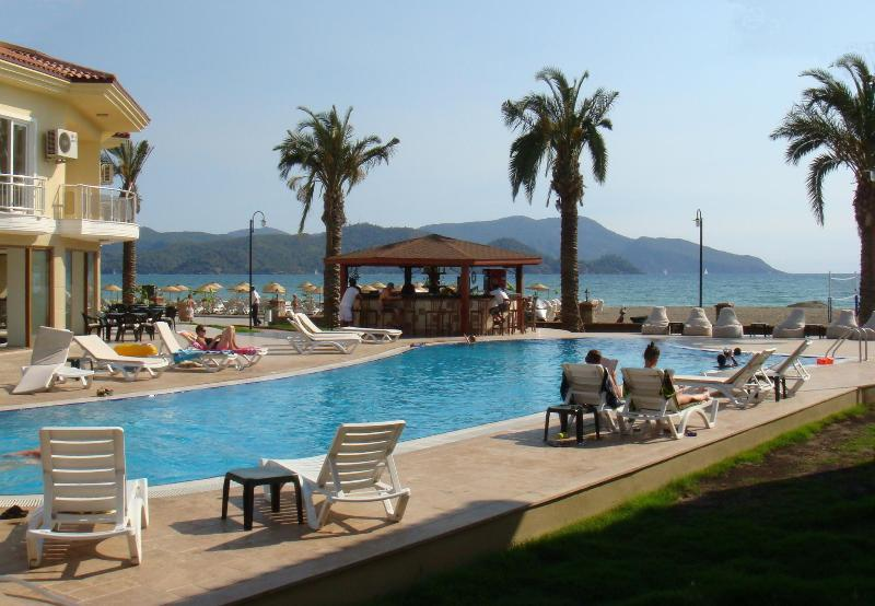 SUNSET BEACH CLUB 5 BEDROOM SEA FRONT VILLA - Image 1 - Fethiye - rentals