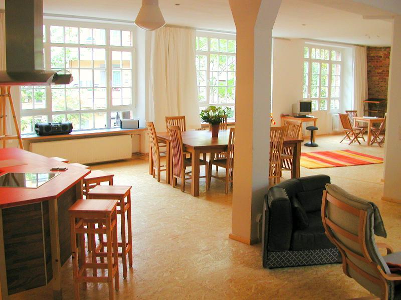 Living Room  - Great Vacation Loft in Berlin, Germany - Berlin - rentals