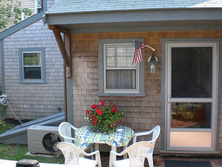 patio entry - Sconset Getaway - Siasconset - rentals