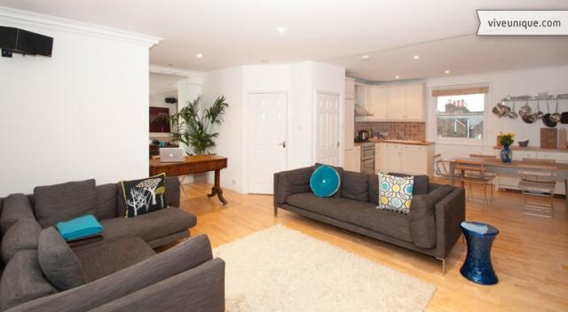 Prince of Wales Penthouse, 2 bed with roof terrace, Camden - Image 1 - London - rentals