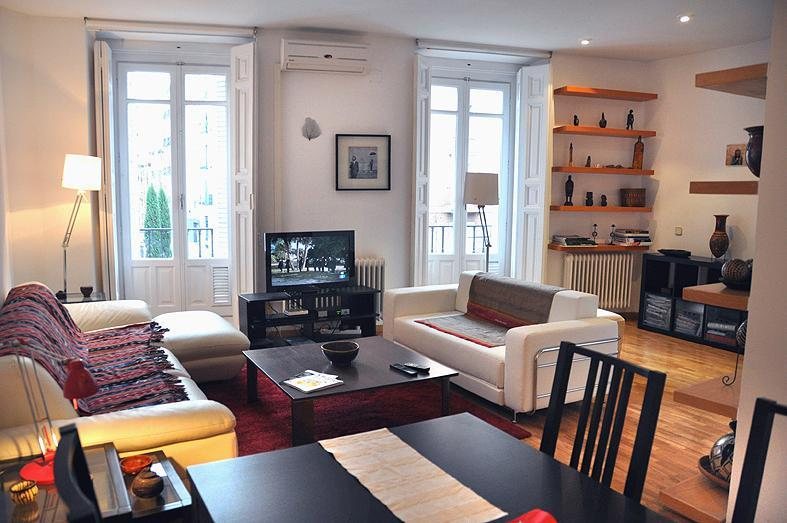 living room - Lux Comendadoras Plaza / 5 Sleeps - Madrid - rentals