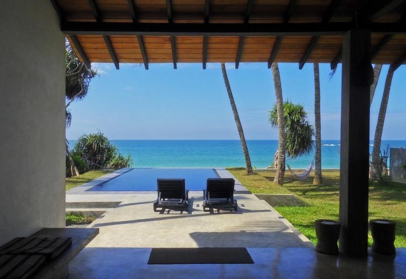 The view from the veranda - Villananda-2 Bedroom BeachVilla with swimming pool - Ambalangoda - rentals