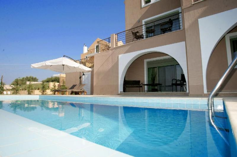 2 People villa with private pool - Erofili Villas-Elegant villa with unique sea view - Lourdata - rentals