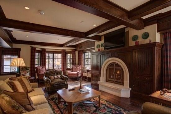 Living Area - Enjoy this mountain style vacation residence at One Willow Bridge Road along Gore Creek. - Vail - rentals