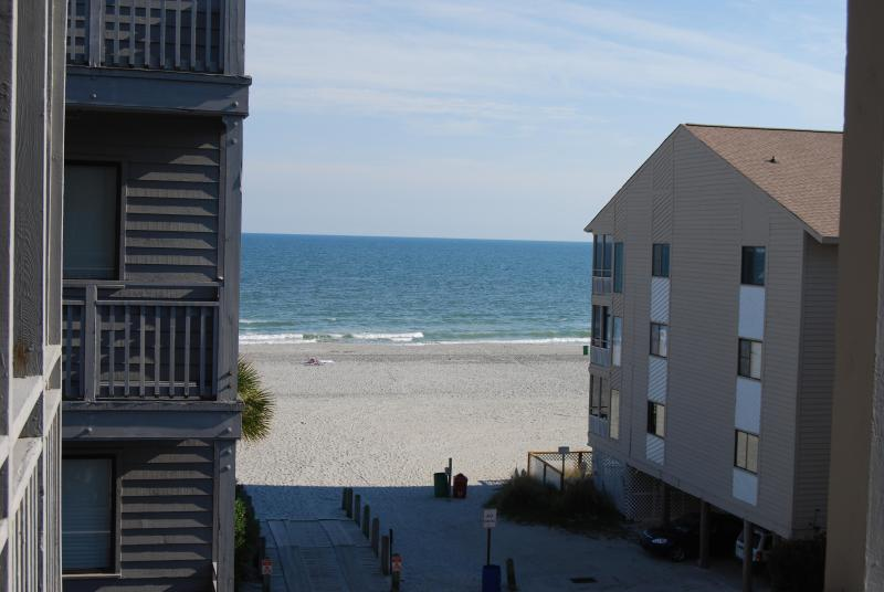Breathtaking view from Master Suite Balcony - Immaculate Oceanside Pelicans Landing 307 3BR2.5BA - Myrtle Beach - rentals