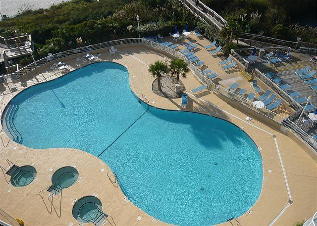 Spectacular Views, Nice Studio with WiFi at SeaWatch North Tower - Image 1 - Myrtle Beach - rentals