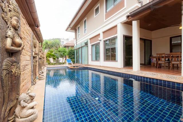 pool - Patong Beautiful private pool villa center Patong - Patong - rentals