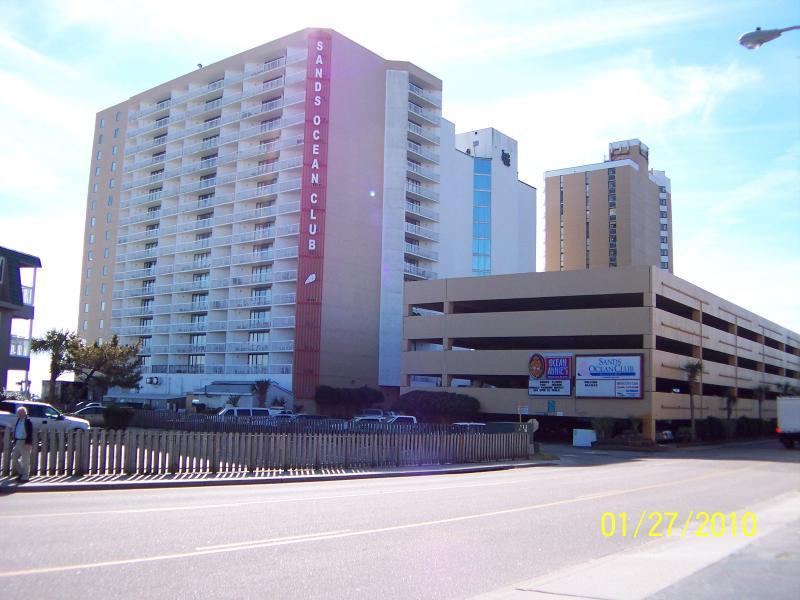SANDS OCEAN CLUB BUILDING - Great Deal and Location, 2 Bedroom Condo at Sans Ocean Club - Myrtle Beach - rentals