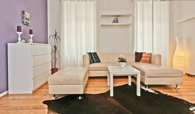living room - 100sqm app in the historical center of Salzburg - Salzburg - rentals