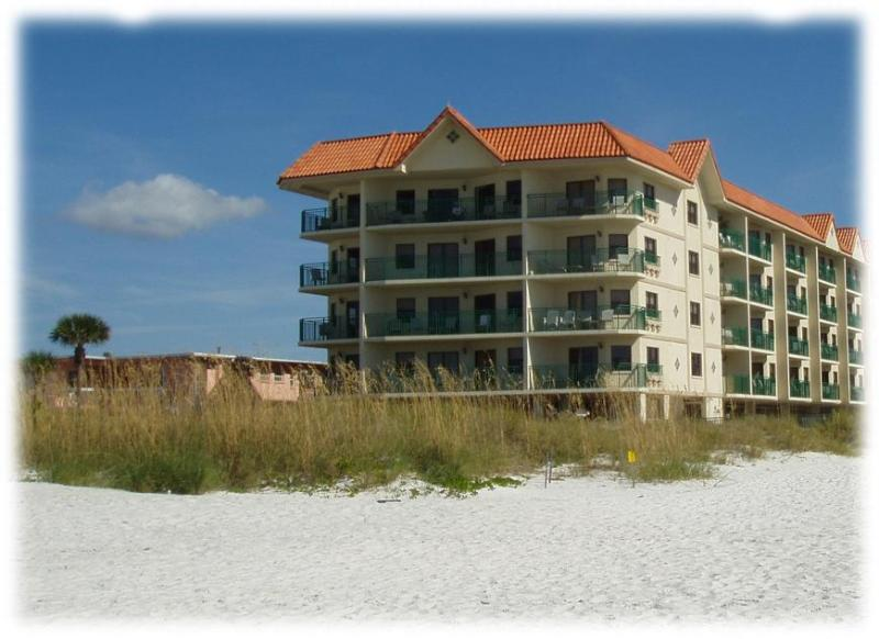 The condo from the beach - 2 Bedroom Condo on the Beach in St. Pete, Florida - Saint Pete Beach - rentals