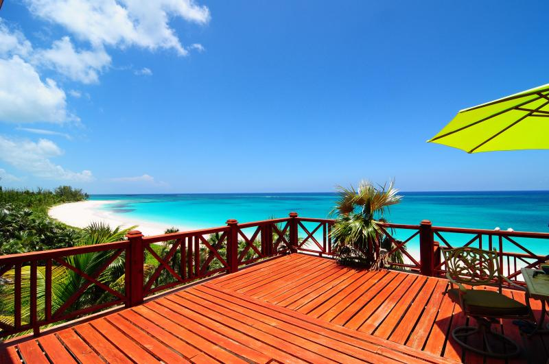 Huge Deck right on the Pink Sands - The Palisades Bahamas Luxurious Beach Front Villa - Eleuthera - rentals