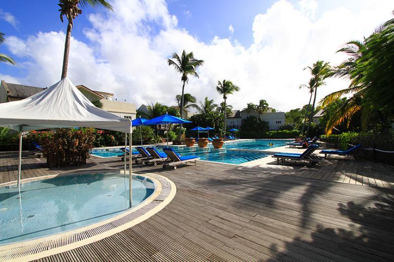shaded kids' pool, plus large adult pool - Villa Valerie, St Lucia. Huge pool and beach too! - Cap Estate, Gros Islet - rentals